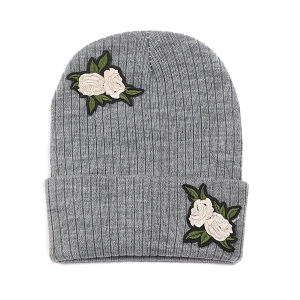 winter cap 055c 30 KW beanie rose gray