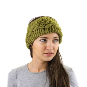 winter cap 076 30 headband crochet flower mustard