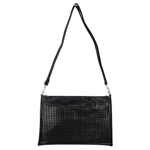 KW Fashion SKA 150 convertible crossbody clutch pyramid black