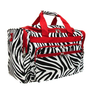 luggage t22 163 YH duffle bag zebra red