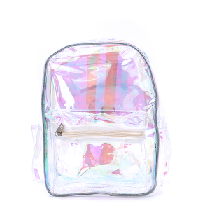Backpack UBP-7970A Iridescent Transparent Clear Yellow