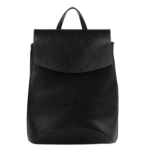 Handbag Republic UNV 0069 fashion backpack black