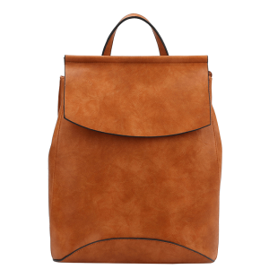 Handbag Republic UN 0069-2 fashion backpack cognac