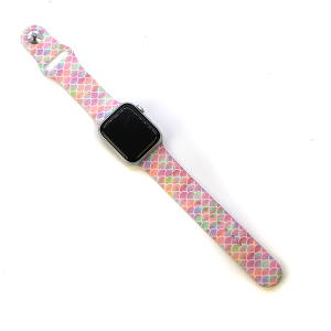 Watch Band 096a 38mm 40mm watch band multicolor scale