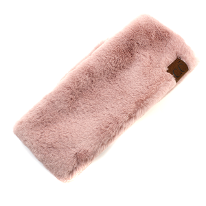 Winter CC Headband 082a Soft Headband velcro rose