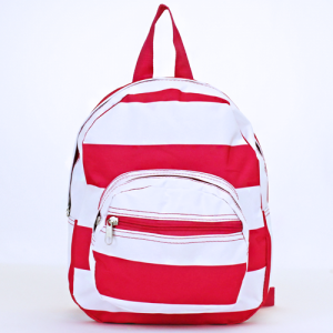 ak backpack NB5 23 nautical stripe fuchsia white
