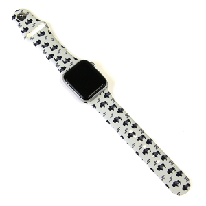 Watch Band 099d 08 38mm 40mm buffalo white