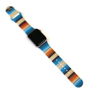 Watch Band 059b 08 38mm 40mm serape multi