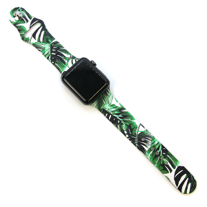 Watch Band 171 08 42mm 44mm Watch Band tropical leaves