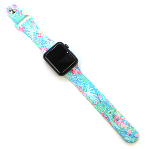 Watch Band 187 08 42mm 44mm Watch Band sea life multicolor