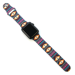 Watch Band 185 08 42mm 44mm Watch Band aztec multicolor