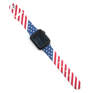 Watch Band 092 08 Rubber Silicone watch band 38mm 40mm usa america
