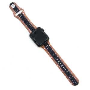Watch Band 095 08 Rubber Silicone watch band 38mm 40mm deer
