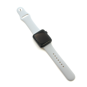 Watch Band 043 08 silicone rubber 38mm 40mm gray