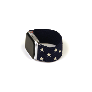 Watch Band 116a stretch band 38mm 40mm stars navy