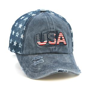 CC Cap 024b USA America Trucker navy blue