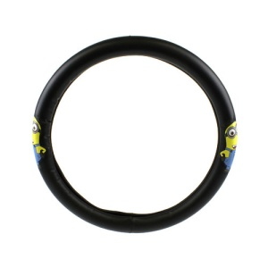 bd mnsw 1201 Minion steering wheel cover black