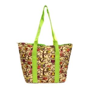 C15 501 AK Lunch Bag Owl green trim