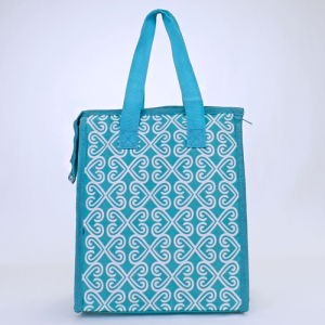 cc 18 17 lunch bag twist turquoise white