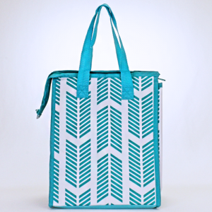 cc 18 22 lunch bag arrow turquoise white