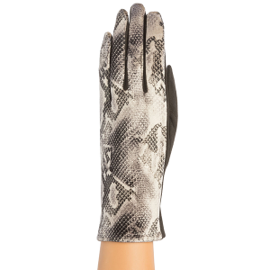 Winter Gloves 035 08 Fadivo snake print gloves camel