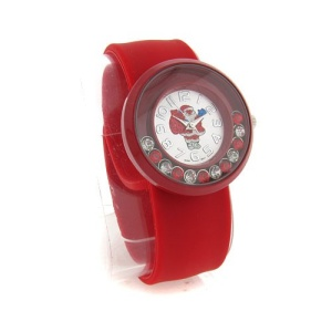 christmas watch 014c 08 slap wrist red