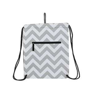 ck sl 1325 chevron sling bag gray white