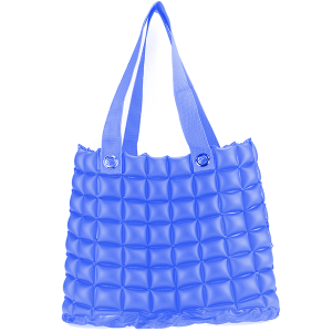 Beach Bag Inflatable Pool Float - Blue