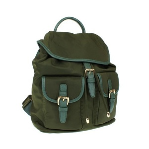 fdc L 0011 nylon backpack olive green