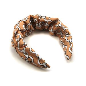 Headband 267 24 chain pattern pink