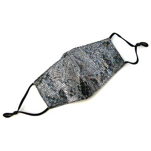 Face Mask 401 Scales Mask multicolor silver