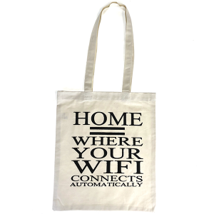 Eco Tote canvas Home WiFi