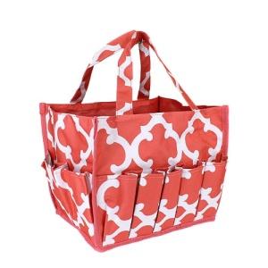 luggage ak hy 009 11 organizer bag quatrefoil coral