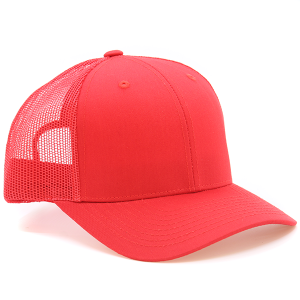 Cap 287 30 KBEthos trucker snapback hat red