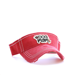 Cap 039i 30 KBEthos dog mom visor coral