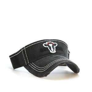 Cap 054n 30 KBEthos visor crazy heifer dark gray