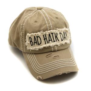 Cap 311b 30 KBEthos bad hair day hat brown