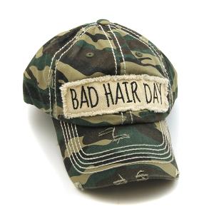 Cap 308b 30 KBEthos bad hair day hat camo
