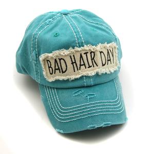 Cap 310b 30 KBEthos bad hair day hat turquoise
