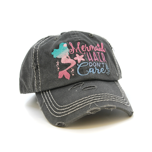 Cap 066u 30 KBEthos Mermaid Hair Don't Care dark gray
