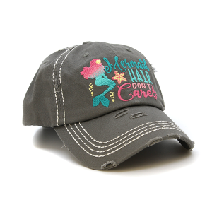 Cap 058u 30 KBEthos Mermaid Hair Don't Care gray