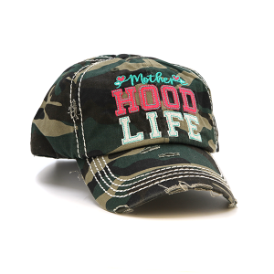 Cap 062r 30 KBEthos Mother Hood Life green camo