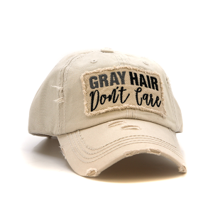 Cap 083a 30 KBEthos Gray Hair Don't Care Beige