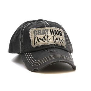 Cap 084j 30 KBEthos Gray Hair Don't Care DG
