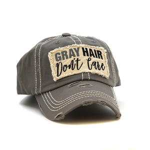 Cap 082m 30 KBEthos Gray Hair Don't Care Gray