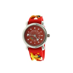 kids watch 884 08 2649 rubber pegasus red