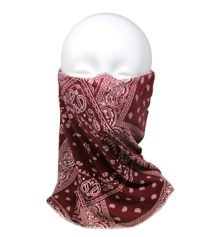 Face Mask 145 Full Face Mask Cover bandana mask red