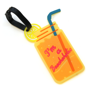 Luggage Tag 070 34 Drink Beachoholic