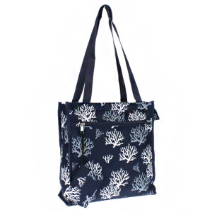 luggage 0313 book bag coral reef SW navy blue