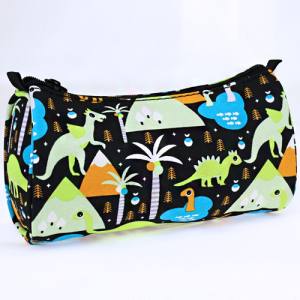 luggage 1008 cosmetic pouch dinosaur multi